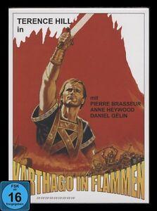 DVD KARTHAGO IN FLAMMEN - TERENCE HILL - UNGESCHNITTENE ORIGINALVERSION * NEU *