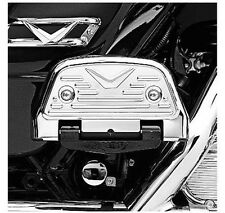 Harley touring flht flhr softail passenger footboard floorboard cover covers kit