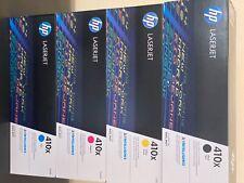 HP Toner-Set 4 Stück Original, CF410X, CF411X, CF412X, CF413X, NEU & OVP