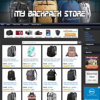 BACKPACK BAG STORE - Home Based Online Affiliate Business Website For Sale!