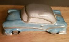 It's a Wonderful Life - Target Village - Figurine - RARE - Blue Car depicted Ad