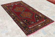 Turkish Rug 47''x94'' Vintage Old Anatolian Carpet 120x240cm