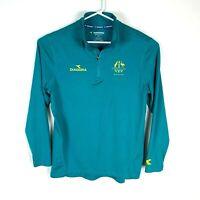 Diadora Australia Commonwealth Games Team Genuine Shirt L/S Size Men's Large