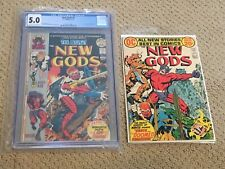 New Gods 9 CGC 5.0 OW/White Pages (1st app of Forager) + extra