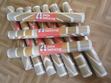 Vintage RETRO Wallpaper 9 Metres 'Esta Behang' Holland 1970's Washable Cafe Home