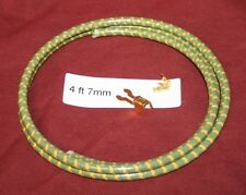 4 ft 7 mm Green Spark Plug Wire Fork End Hit & Miss Gas Engine Motor Ignition