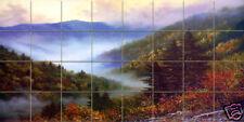 48 x 24 Art Ceramic Mural Backsplash Bath Landscape Tile #130