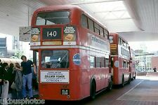 London Transport RT1301 Heathrow 1978 Bus Photo