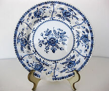 VTG. JOHNSON BROS. IRONSTONE FLORAL INDIES PATTERN ENGLAND BREAD PLATE 6 INCHES