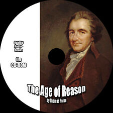 The Age of Reason, Thomas Paine, MP3 Audiobook 1 CD