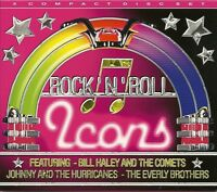 ROCK 'N' ROLL ICONS, 3 CD SET, BILL HALEY, JOHNNY & THE HURRICANES, EVERLY BROS