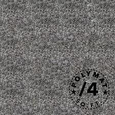 "POLYMAT S25 1ft X 48"" CARPET:AUTO DASH COVER PANELS TRUNKLINER HEADLINER FABRIC"