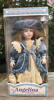 Angelina Collection by Timeless Treasures 2001 Porcelain Victorian Doll