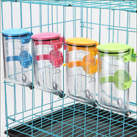 350/500ml Pet Dog Rabbit Water Drinker Dispenser Bird Hanging Bottle Auto Feeder