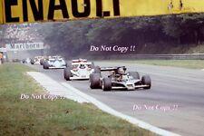 RONNIE PETERSON LOTUS JPS 78 ITALIANO Grand Prix 1978 fotografia 2