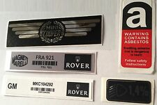 Mini Cooper 1.3 1.3i RSP Rover Sport Seven Knightsbridge Mini 40 Sticker Pack