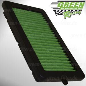 Green Sportluftfilter für Nissan Micra & Renault Clio & Captur Luftfilter