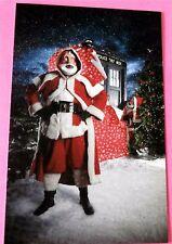 "Festive Santa Roboforms ""Pilot Fish"" - New Doctor Who Postcard"