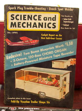 Science and Mechanics Monthly Magazine, April 1960! Fair Condition Complete.