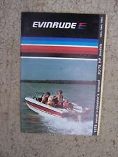 1978 Evinrude 70 75 HP 70873 75842 75843 Outboard Motor Owner Operator Manual. S