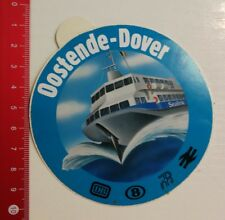 Aufkleber/Sticker: DB Oostende Dover Line (03051773)