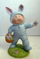 Cabbage Patch Kids Porcelain Figurine 1985 Xavier Robert Easter Bunny Rabbit