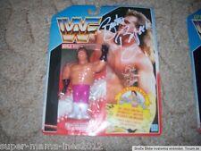 WWF Hasbro Wrestling Figur  Brutus Beefcake OVP MOC  signed spain Card DWA live