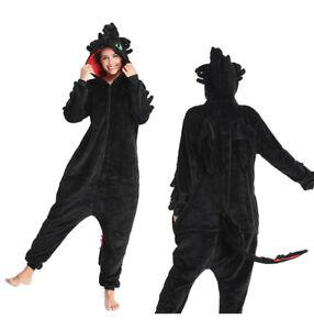 How To Train Your Dragon Sleepwears Cosplay Toothless Pajamas Unisex Kigurumi UK