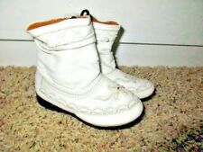 WHITE COWGIRL BOOTS SOFT ~By PINKY~ Shoes TODDLER BABY GIRL SZ 3