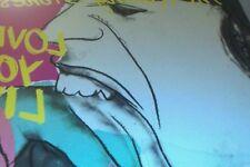 ANDY WARHOL -cover réalisé par Warhol pour le dble vinyl des rolling stones 1977