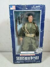 "Vintage 1998 Soldiers Of The World WWI USA Infantryman 12"" Action Figure NOS NIB"