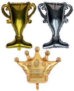 Trophy / Cup Crown King Queen Winner Competition Champion Balloon