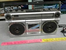 Vintage Quasar Gx3601 Stereo Radio Cassette Recorder Boombox for parts Only