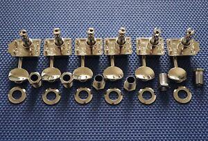 6 Fender Classic Gear Strat Tele Vintage TUNERS TUNING PEGS, Performer, 18:1