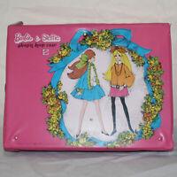 Barbie & Steffie Sleep'n Keep Case Pink w/ Fold Out Bedroom