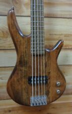 New Ibanez Gio GSR105EX 5 String Electric Bass Mahogany Oil