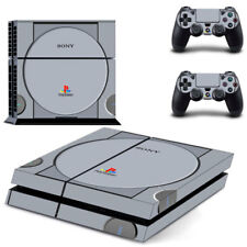 Classic PS1 Vinyl Decal Skin Sticker for Sony PS4 Console & 2 Controller Skins