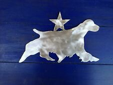 English Springer Spaniel with star, Dog Tree Topper, Wreath Decor, Holiday