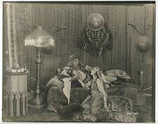 Rudolph Valentino & Agnes Ayres The Sheik 1921 Rare Orientalism Art Photograph