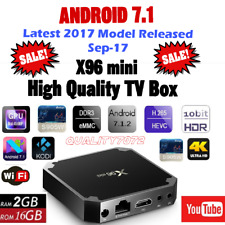 2017 Android 7.1 Smart tv Box 2GB 16GB S905W 4K Ultra HD Internet Kodi Player