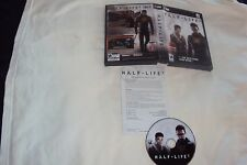 HALF-LIFE 2 PC Disc Key Command Card Art And Case VG To Nrmnt Has Install Code