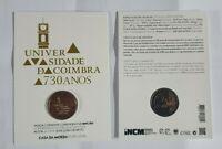 "Coincard Portugal 2020 mit 2 Euro Gedenkmünze "" Coimbra "" BU - Blister"