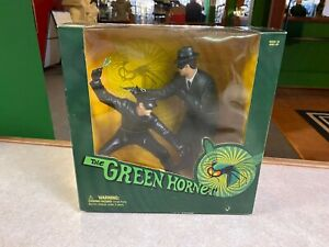 """1999 Sideshow Green Hornet and Bruce Lee As Kato 9"""" Inch Action Figures NIB"""
