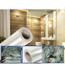 Length: 3m Security Window Film Transparent Window Stickers Protect Glass Splash