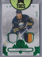Kyle Okposo 2017-18 Artifacts Emerald Patch/Jersey 20/65 Buffalo Sabres