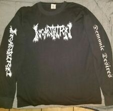 Incantation tour shirt Demonic Desires 1996