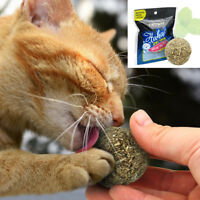 Healthy Refillable Catnip Toys Ball Kitten Treats Cleaning Tool Cat Toys Natural