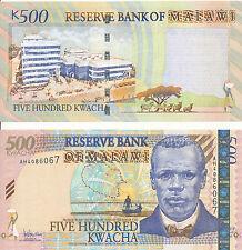 Malawi - 500 kwacha 2005 UNC-pick 56a