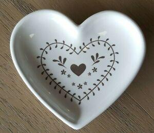 Cooksmart Woodland Collection Tea Bag Tidy Heart design