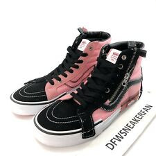 Vans Sk8 Hi Reissue Cap SAMPLES Size 9 Men Color Pink NEW